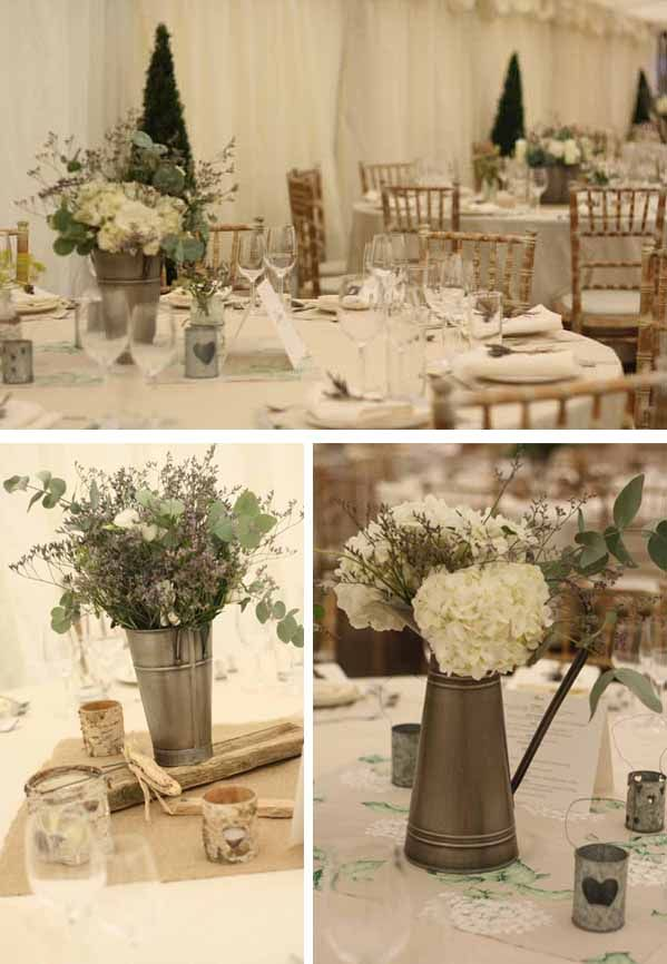 rustic august weddings | rustic wedding flowers wroxall abbey