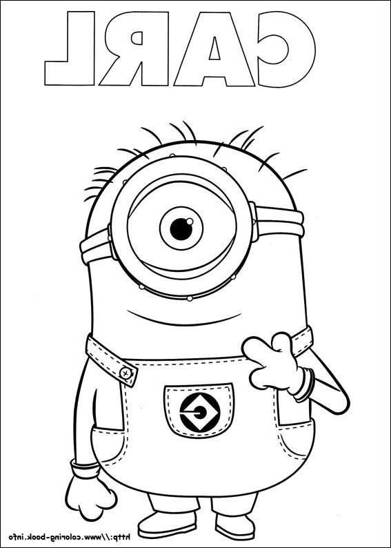 Minions Coloring Book Coloring Page Coloring Books Coloring