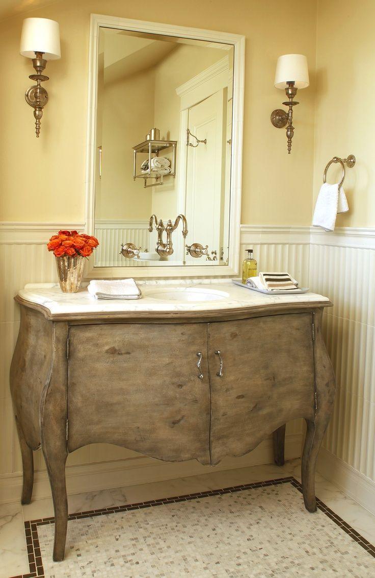 Guest Bathroom   Design By Anne Fifer Interiors