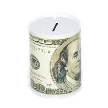 100 Dollar Bill Tin Money Bank, Case of 48 – #Bank…