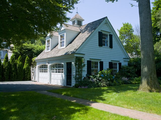 Charming Detached Garage With Dormers To Match The House