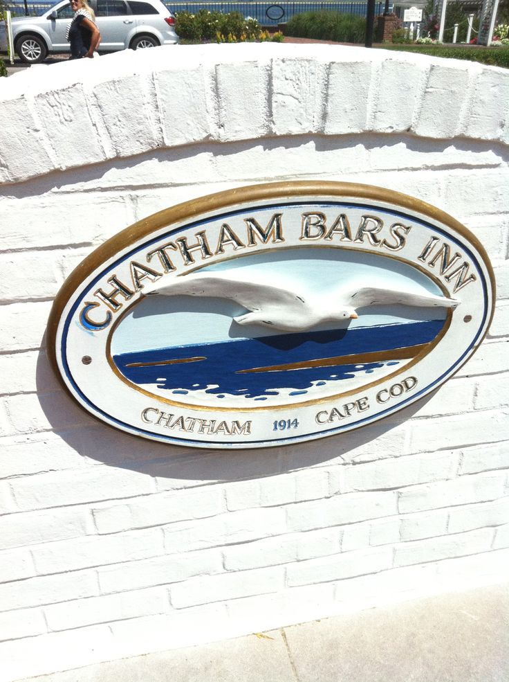 Chatham Bars Inn sign, Chatham,MA Cape Cod