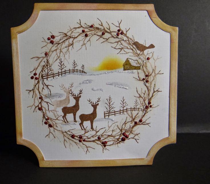 BJCrafty: Cardio Christmas Theme Card