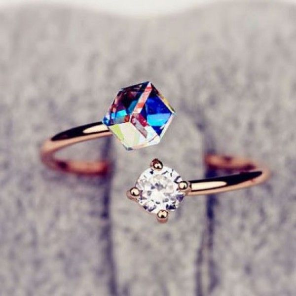 Cool! Colorful Zircon Rhinestone Opening Ring just $10.99 from ByGoods.com! I can't wait to get it!