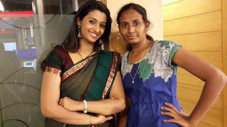 Priya Bhavani Shankar With her Friend