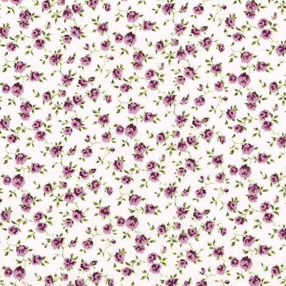 Liberty Fabric Nina J Purple Violet Tana Lawn Fat Quarter