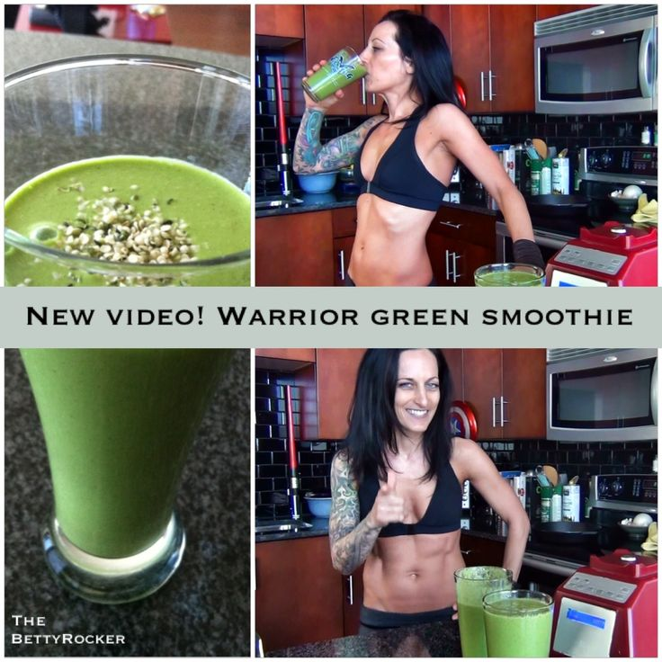 Betty Rocker | Warrior Green Smoothie for Strength and Weight Loss!
