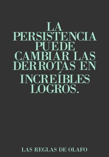 Éxito y logros