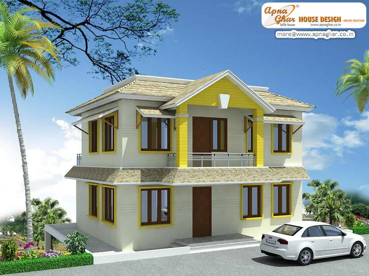 Beautiful Duplex 2 Floor House Design Click On This Link