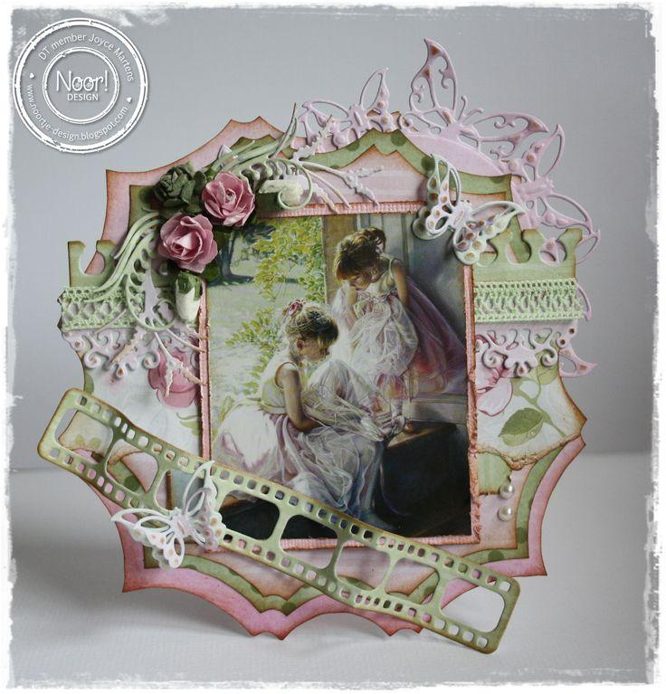 6002/0322 Noor! Design Vlinderstans rond door Joyce Martens