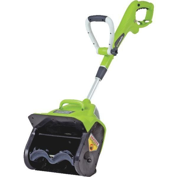 Greenworks Snow Blower Review #snowblowerreview