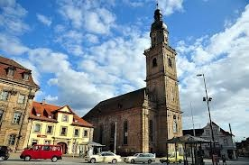 Martin Luther Kirche Erlangen Germany