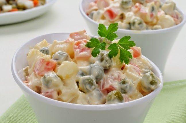 Un buon contorno per gli antipasti di Natale è l'insalata russa, che fatta con il nostro Bimby esce spettacolare. Eccovi la mia ricetta....