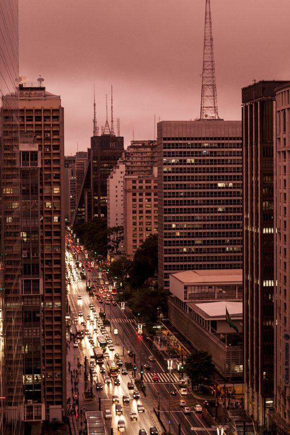 Ave Paulista  Sao Paulo  Brazil