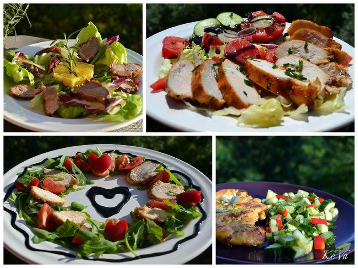 4 szuper salátarecept a kánikulára - Keva Blog