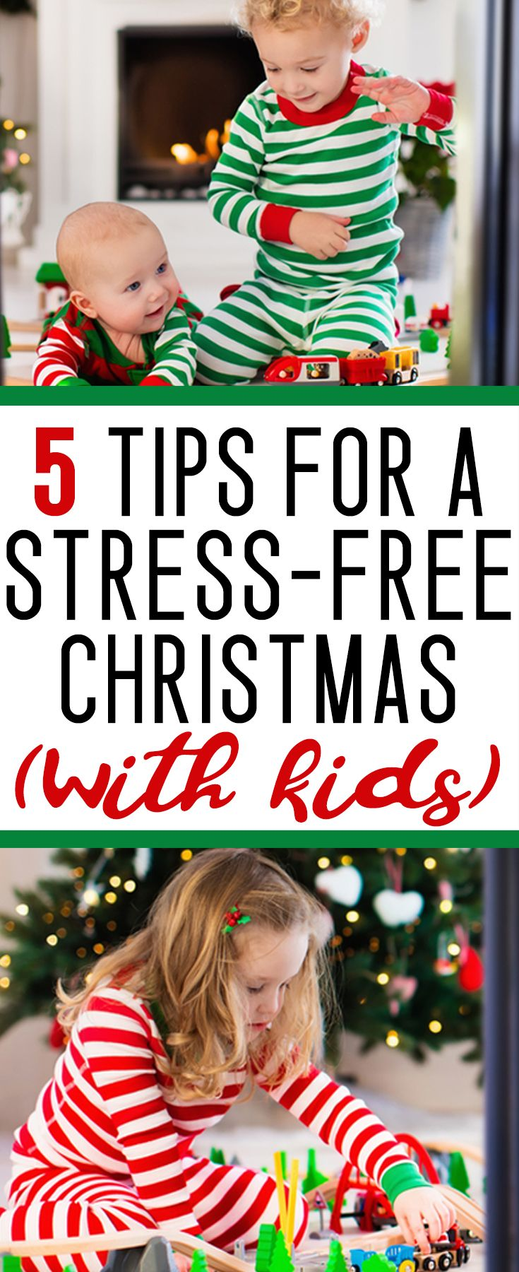 Surviving Christmas with kids (and keeping your sanity!)