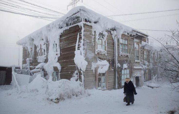 A leghidegebb falu | Fotó: amoschapplephoto.com