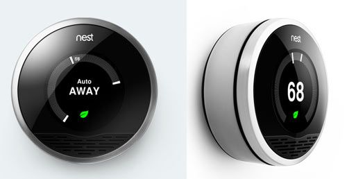 Nest is a new thermostat that learns. After installation, you tell Nest a few things and it begins to learn how and when you change the temperature.