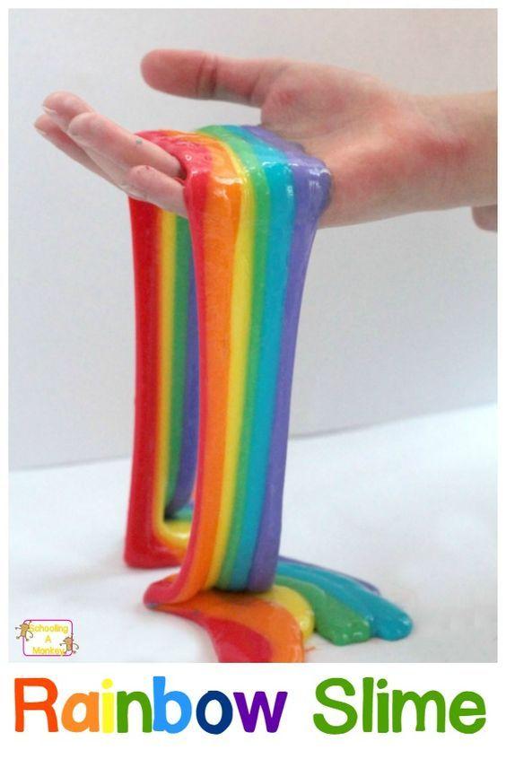 Como hacer slime facil (sin borax y sin almidón) -