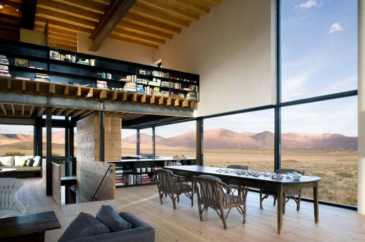 a desert outpost in Idaho designed by Olson Kundig