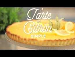 Tarte au citron extra simple - CuisineAZ