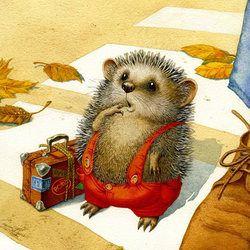 Ежик (the little hedgehog)