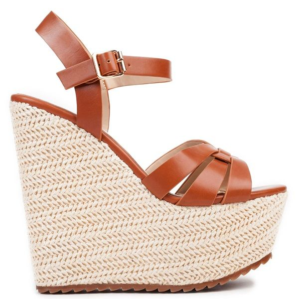 Camel multistrap platform with straw. Fastens with adjustable ankle strap.