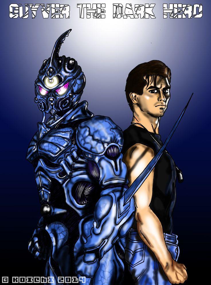 Guyver 2: Dark Hero / David Hayter. Author: Koichi.