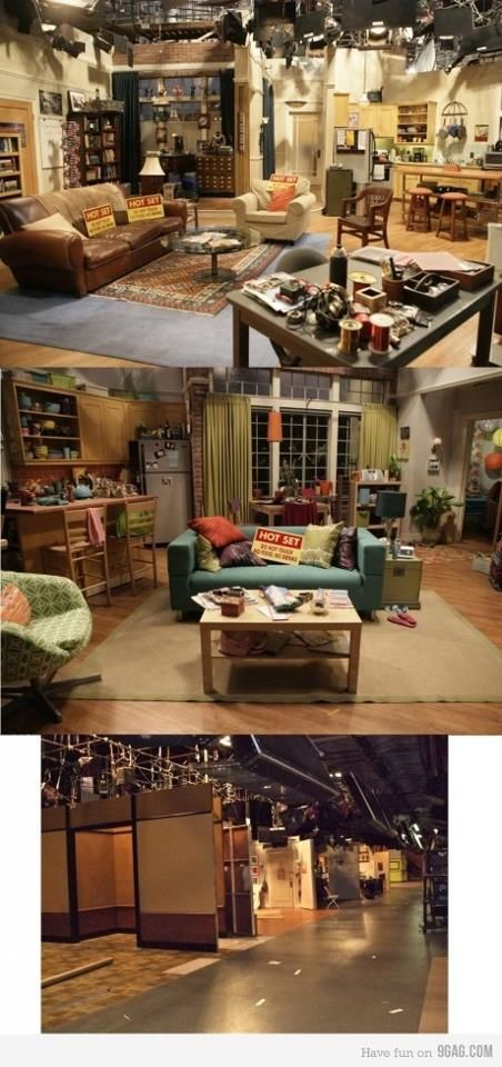 17 Best Images About Big Bang Theory Set On Pinterest