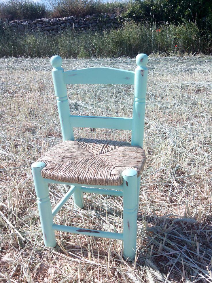 """Silla mini rústica """"la cadireta"""""""