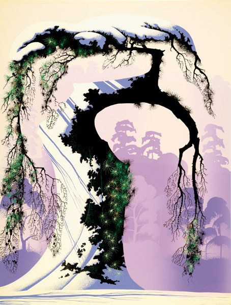 Eyvind Earle is a magician in my opinion