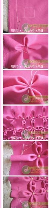 Sew Flowers!