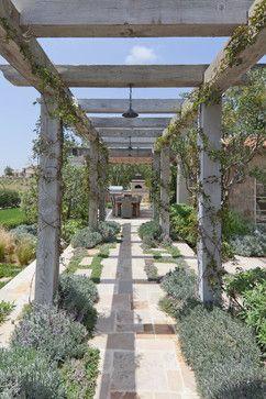 Shady Canyon - mediterranean - patio - orange county - Mark Scott Associates   Landscape Architecture