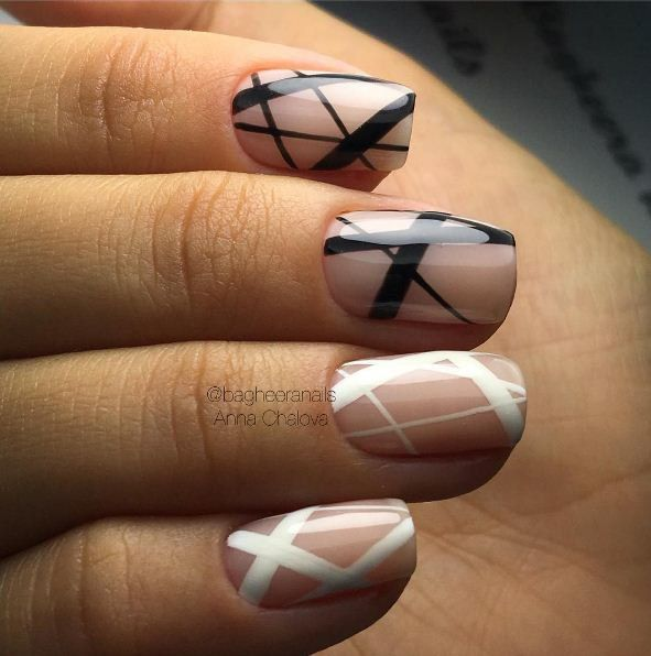 Best 25 line nail designs ideas on pinterest chevron nails pelikh art simple nail prinsesfo Image collections