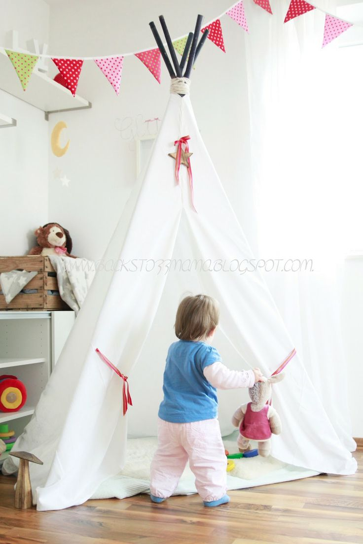 49 best Zelt / Tipi nähen images on Pinterest | Tents, Child room ...