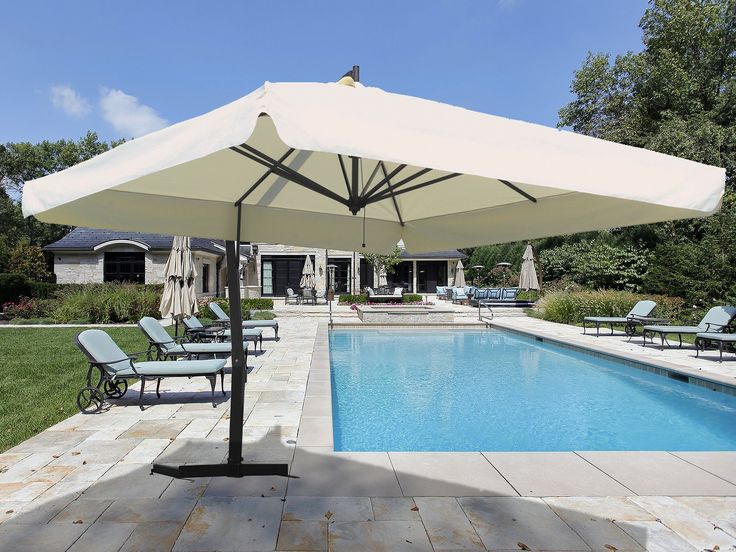 FIM is a company specialized in the production of large patio umbrellas: a  reality consolidated - 25+ Best Ideas About Cantilever Patio Umbrella On Pinterest