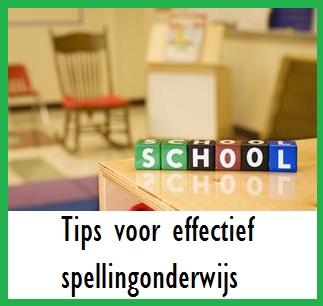 Effectief spellingonderwijs - KlasvanjufLinda.nl - vol met leuke lesideeën en lesidee