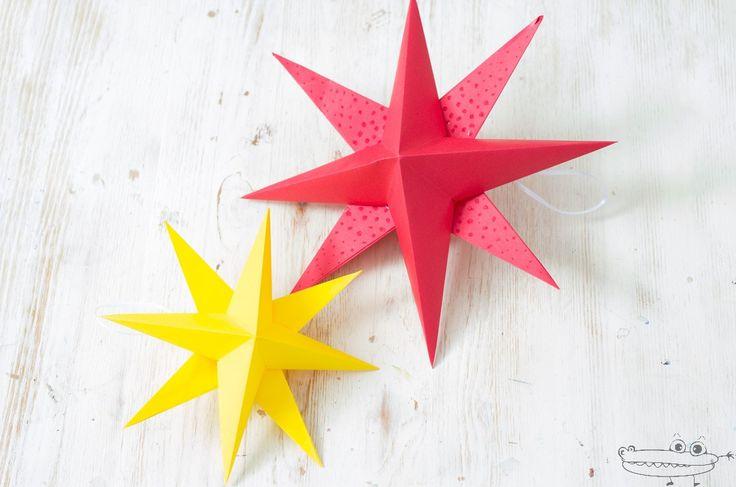 Esta estrella de Navidad 3D de papel es realmente espectacular y muy fácil de hacer. Podemos usarla para decorar el árbol de Navidad, como adorno para la casa, para colgar en una ventana, etc. Si estáis buscando manualidades de Navidad...