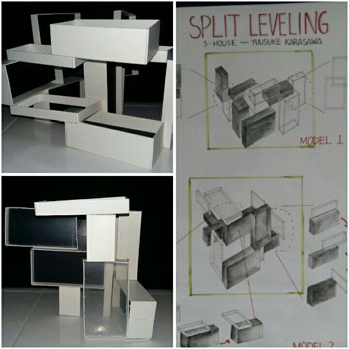 Split Leveling - Hasna Nurmaraya, Kelompok 1A