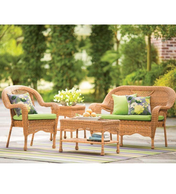 die besten 25+ resin wicker furniture ideen auf pinterest, Gartenmöbel