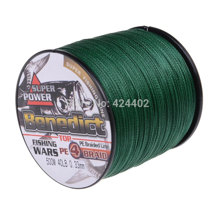 500M Brand Feihong 4 strands Ξ Japan Multifilament 100% PE supper ᗛ strong  Braided Fishing Line 6LB -80LB500M Brand Feihong 4 strands Japan Multifilament 100% PE supper strong  Braided Fishing Line 6LB -80LB