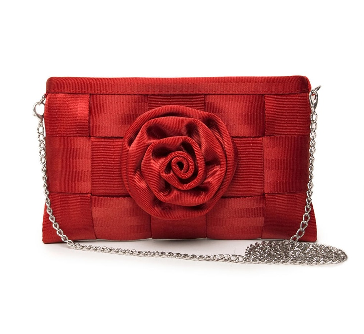 Harveys Seatbelt Bags Lily Rose Crossbody Clutch