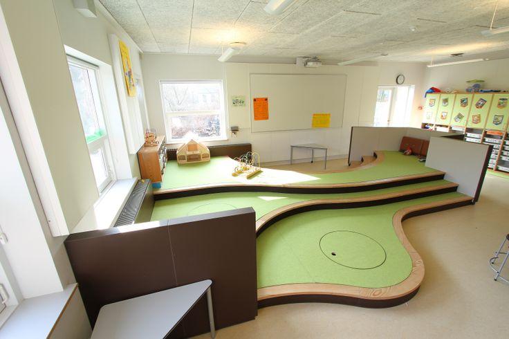 International School, Billund - #school #interior #forbo #interiordesign #linoleum