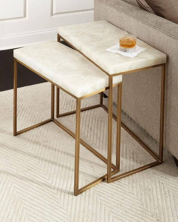 Ethan Allen Copper Top Coffee Table: 25+ Best Ideas About Nesting Tables On Pinterest