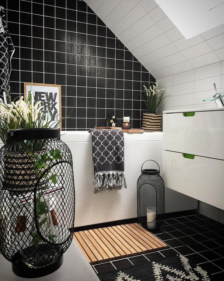 Die Besten 25 Bad Fliesen Ideen Auf Pinterest: Die Besten 25+ Schwarzen Fliesen Badezimmer Ideen Auf