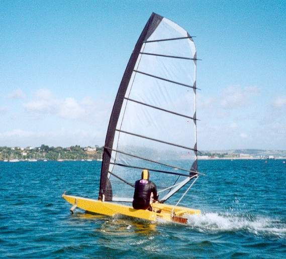 hydrofoil sailing dinghy | Boats | Pinterest | Boats, Sailing dinghy and My cousin