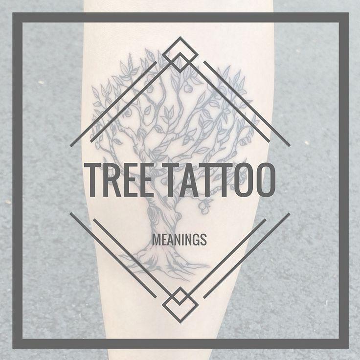 TREE TATTOO MEANINGS