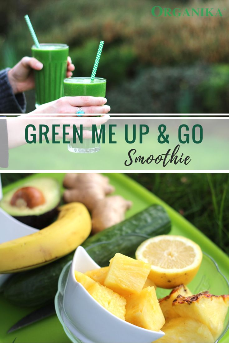 Green smoothies like this one taste greate and are loaded with all the nutrients from power foods like spinach, avocado, pineapple, #spirulina, and ginger to name a few!  #vegan #glutenfree #green #smoothie #recipe