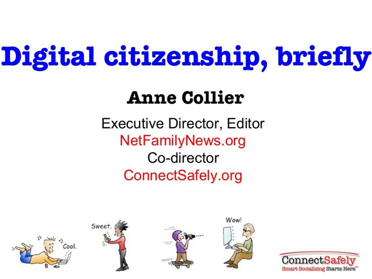 Digital citizenship, briefly : The presentation, titled Digital Citizenship, Briefly, provides a good overview of what does and doesn't work in promoting good digital citizenship.