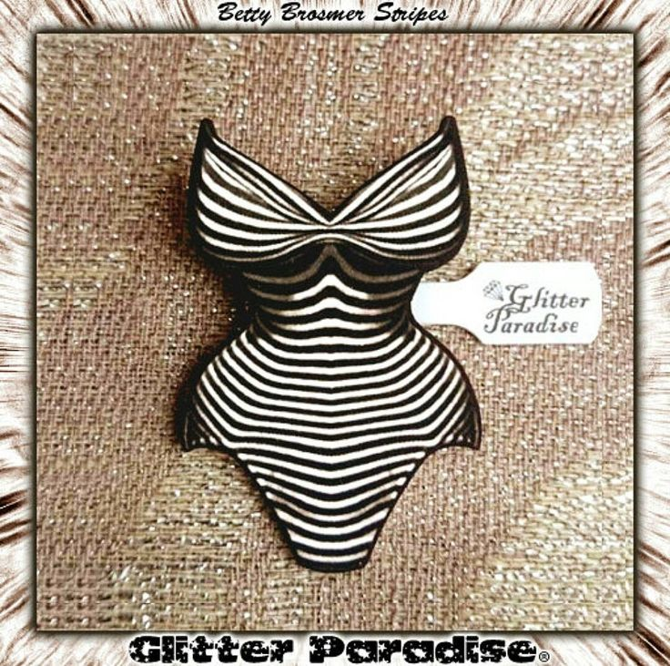 Betty Brosmer's Stripes - Brooch  Available at  http://ift.tt/KWfwca  Handcrafted  In Francewith Love  since 2008 Glitter Paradise Do not copy do not reproduce.  #GlitterParadise #Jewelry #Handmade #HandmadeJewelry #HandcraftedJewelry #RetroPinup #pinupjewelry #FetishJewelry #Retrolifestyle #supermodel #BettyBrosmer #bettybrosmer #MidcenturyModernJewelry #RetroLover #PinupFashion #Vintageinspired #retropinup #retroSwimsuit #retrounderwear #retrolingerie #vintagelingerie #vintagesleaze…
